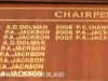 Durban Bowling Club Honours Boards   Chairpersons. (2)