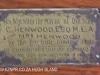 Durban Bowling Club opening C Henwood box & letter (1)