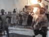 Umkhumbane Heritage Centre - Riot Photos - angry lady