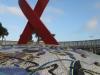 Durban - Gugu Dhlamini Park Aids Ribbon (1)