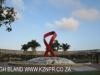 Durban - Gugu Dhlamini Park Aids Ribbon (3)