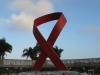 Durban - Gugu Dhlamini Park Aids Ribbon (4)