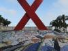 Durban - Gugu Dhlamini Park Aids Ribbon (7)