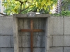 Durban CBD - Francis Farewell Square Delville Wood cross (1)