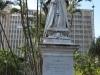 Durban CBD - Francis Farewell Square Queen Victoria statue and plaques (2)