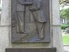 Durban CBD - Francis Farewell Square statue & friezes - Jan Christiaan Smuts & King George