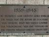 Durban Cenotaph -  plaque 1939 - 1945