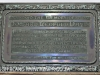 Durban - Greyville - St Marys Anglican Church plaque Howard Leopold Davies 1916