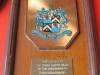 PYC -  Plaque from City of Durban 100 Years 1992