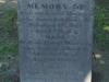 Durban - West Street Cemetery - Grave -  Andrew Morrison 1861 -  (282)