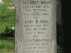 Durban - West Street Cemetery - Grave -  Brain - King - Longworth (1)