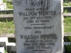 Durban - West Street Cemetery - Grave - Mary & William Hunter -    (181)