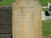 Durban - West Street Cemetery - Grave -  William Arbuckle 1875 & Margaret (266)