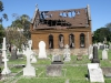 Durban - West Street Cemetery - Grave and chapel....) (2)