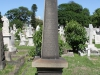 Durban - West Street Cemetery - Graves Barque HMS Transvaal 1874