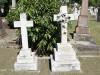 Durban - West Street Cemetery - Graves Hickman and Robinson
