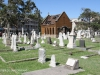 Durban - West Street Cemetery - Graves and chapel
