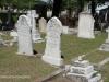 Durban - West Street Cemetery - Graves vEdgar Clake & Laura Bartlett