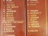 DURBAN - Collegeans & Crusaders Canoe Club - Honours Boards - Bowls - Singles
