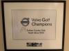 Durban Country Club -  Club images - memorabilia Volvo trophy (2)