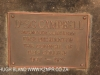 Durban DUT Campus plaque DR S Campbell first President Council 1907 to 1926 -  (3)