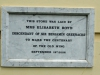 Durban Girls College - Essenwood Road facades and opening plaques - Elizabeth Boyd - 2006