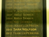 Durban Girls College - Honours Boards - Dux of the School