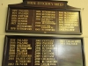 Durban Girls College - Honours Boards - House Efficiency Shield