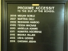 Durban Girls College - Honours Boards - Proxime Accessit to Dux