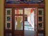 Durban Girls College - Library - Stain Glass entrance (1)