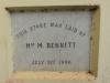 Brickfield - 123 Jan Smuts Avenue -  Church - Stone  Mrs M Bennett 1900