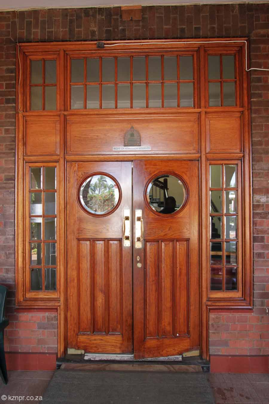Bartle House 1929 - Durban Home for Men - 300 Bartle Road - Main entrance door & Durban Area | KZN: A Photographic and Historical Record Pezcame.Com