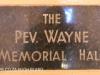 Manning Road Methodist Church Rev. Wayne Memorial Hall (1)
