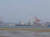 Durban Harbour - Container Terminal - low tide from Embankment (9)