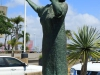 Durban Harbour - Lady in White - Perla Siedle Gibson - Monument at Passenger terminal -  (7)