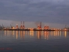Durban - Harbour at Dawn - Container terminal (1)
