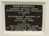 Inanda - Phoenix Settlement - Sarvodaya House - Plaque - 2000 Thabo Mbeki
