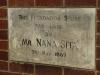 Inanda - Phoenix settlement - Museum -  Nana Sita Foundation stone 1969