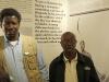 Inanda - Ohlanga Institute - John Dube Hall Displays - Curator - Manhla Nxumalo & guide Bongani