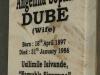 Inanda - Ohlanga Institute - Monument - Grave Angelina Sophie Dube 1986 (1)