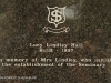 Inanda Seminary Lucy Lindley Hall Museum 1897 Plaque