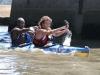 Kingfisher Canoe Club - Dusi  Canoe Marathon finish - 2014 -  Andy Birkett & Zondi