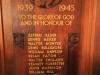 Morningside St James Church Roll of Honour WW11