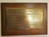 Livingstone Primary School -  1910 - Primary School opening plaque