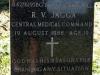 Redhill Cemetery - Military Graves - (Border War) -  84276195Bg L Cpl RV Jagga - Central Medical Command - 19 Aug 1988