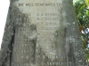 Redhill Cemetery - Monument WWI & WWII - Name list  (4)