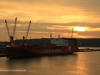 Durban Harbour at dawn cargo jetty (10)