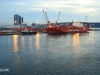 Durban Harbour at dawn cargo jetty (11)