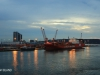 Durban Harbour at dawn cargo jetty (13)