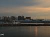 Durban Harbour at night Motor Ro-Ro wharf. (1)